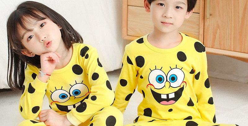 Cotton Pajamas Sets 2-13T