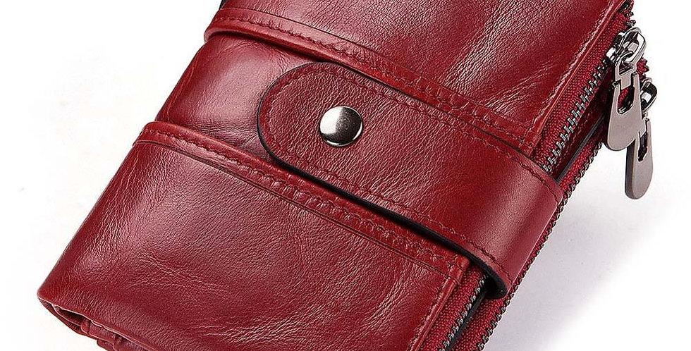 Genuine Leather Women Wallet