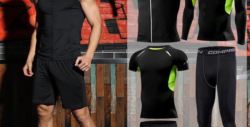 Set for Men's Sport Suit Outdoor Jogging