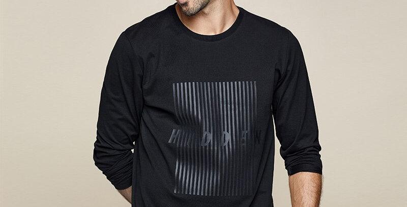 Long Sleeve Cotton T-Shirt