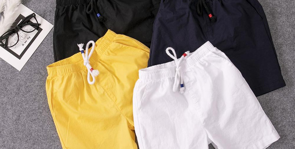 Cotton  Shorts With Belts 3T-16