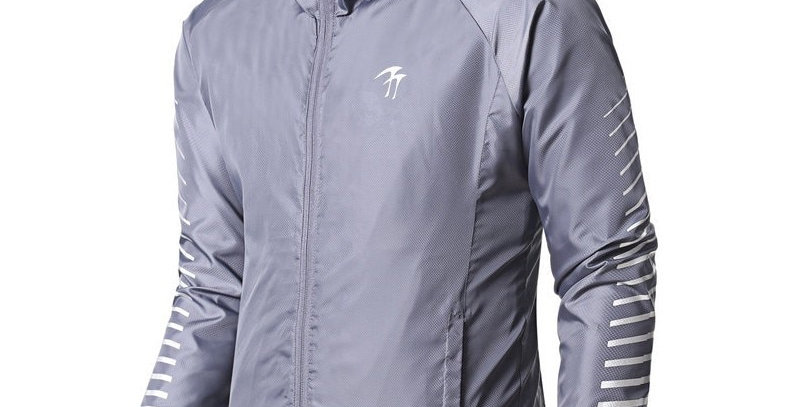 Men Sports Jacket Running Windbreaker Windproof