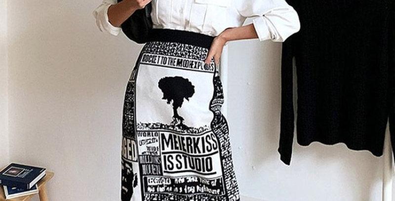 Knitted Skirt Women