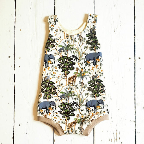 Jungle Short Romper