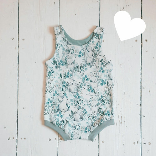 Some Bunny Loves You Short Romper