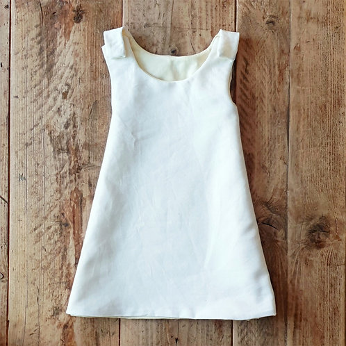 Daydream Believer Linen & Jersey Dress