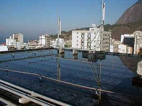 Impermeabilizações de lajes, terraços e outros - Reformas prediais