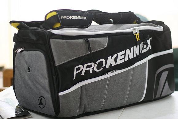 PROKENNEX Bag, Racquetball PRO BAG, Black Grey Color