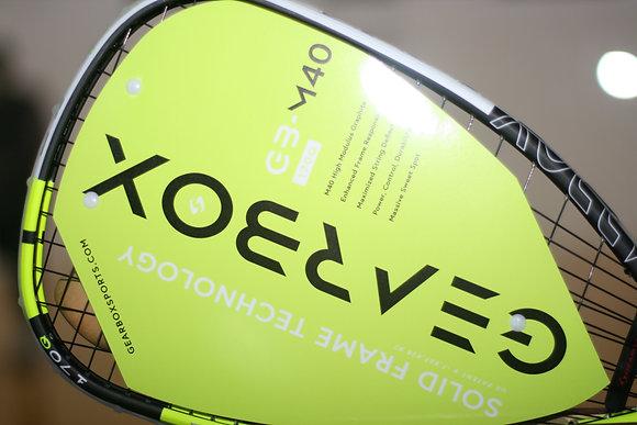 GEARBOX M40 170Q Quad Yellow Racquet