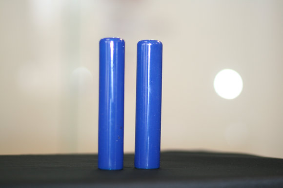 TACKY GRIP VISION BLUE, 2 Grips Total