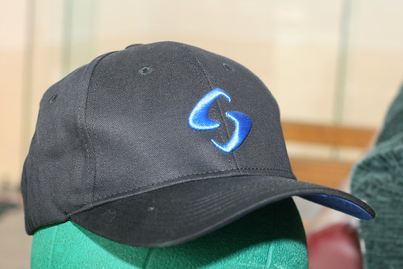 GEARBOX CAP, Black with Blue