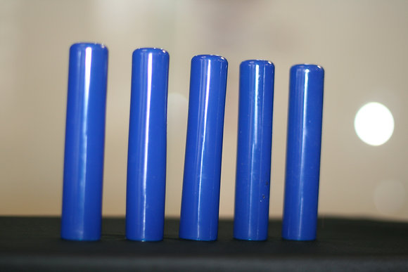 5 TACKY GRIP VISION BLUE. A Set of Five Grips