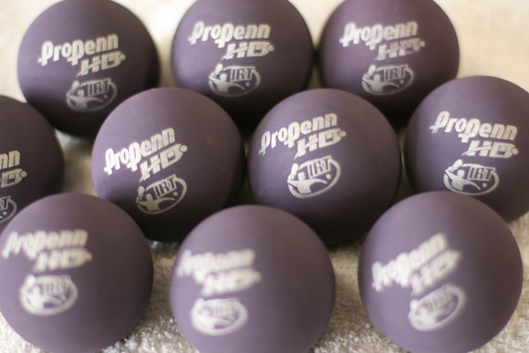 20 PROPENN Racquetball HD Purple, in Bulk, Loose, Not Canned, 20 Balls Total