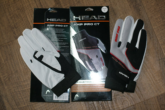 2 HEAD GLOVE AMP PRO CT, A set of Two Gloves