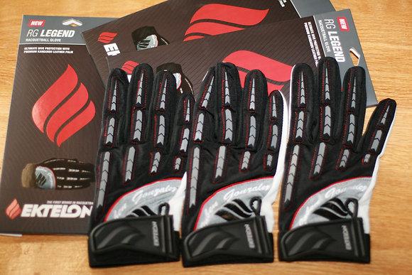 3 EKTELON RG LEGEND Racquetball Gloves, A set of Three Gloves