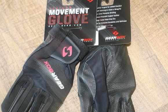 2 Gearbox Movement Gloves Black, 2 LEFT Gloves