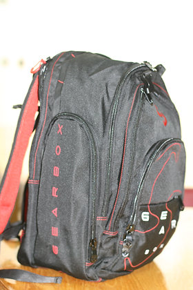 GEARBOX Backpack M40 Black Red