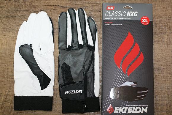 3 EKTELON CLASSIC NXG Racquetball gloves, A Set of 3 Gloves
