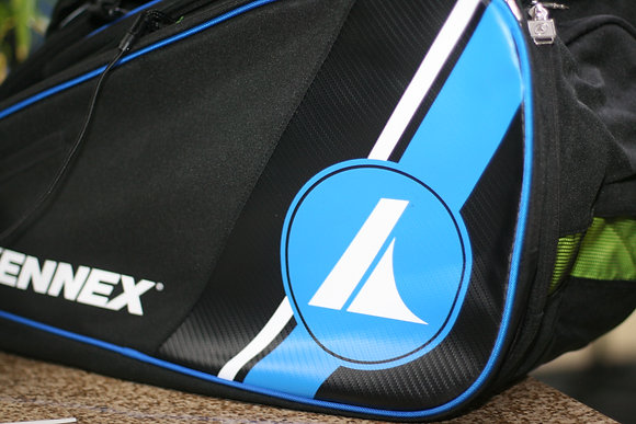 PROKENNEX Bag, Racquetball TOUR BAG, Black Blue Color