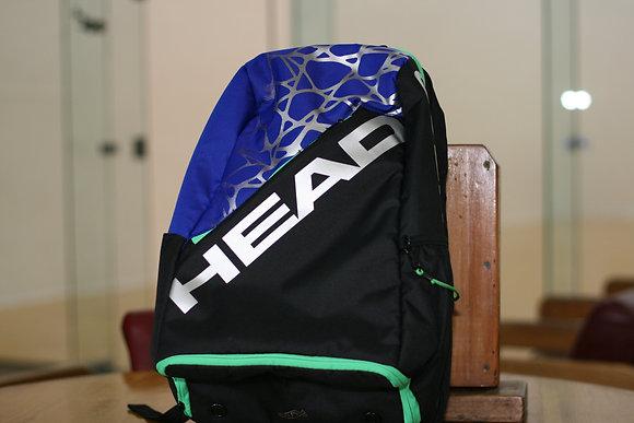 HEAD Racquetball BackPack Black Blue Green