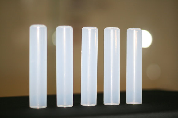 FIVE TACKY GRIP VISION CLEAR, A SET OF FIVE GRIPS
