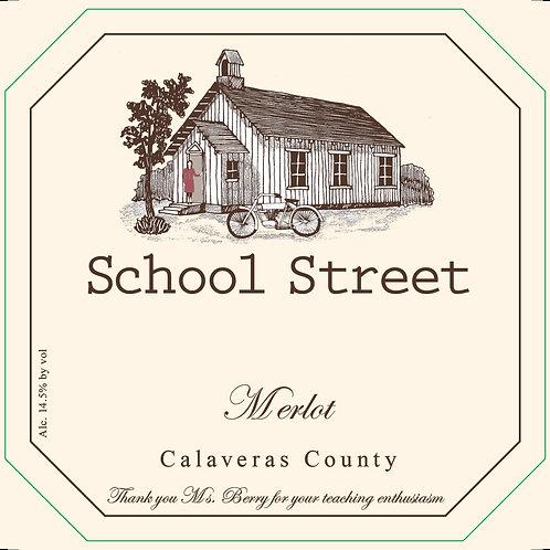 2014 School Street Merlot (12 btls)