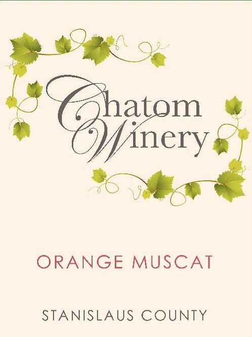 2018 Chatom Orange Muscat