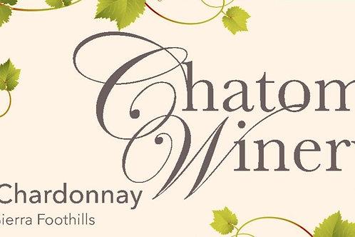 2018 Chatom Chardonnay (12 btls)
