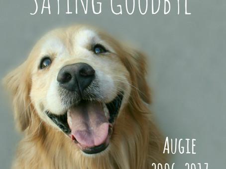Saying Goodbye to Augie
