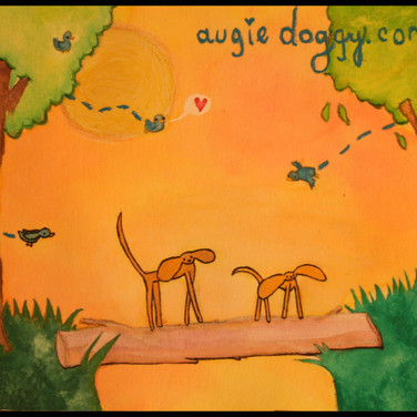 AugieDoggy Watercolor