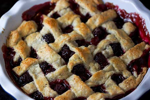 Blackberry Cobbler Party