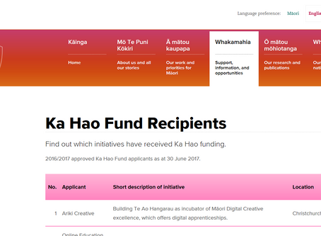 NNMD's Young Animators Initiative becomes a recipient of the Ka Hao Technology Fund.
