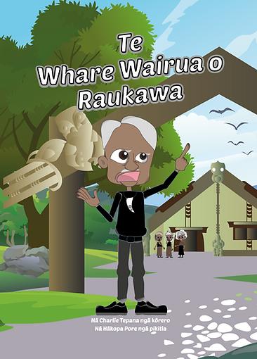 Te Whare Wairua O Raukawa Title Page-01.