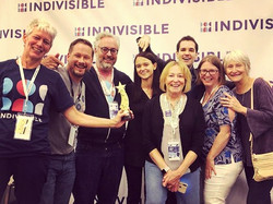 The #indivisiblesofpa had a great time p