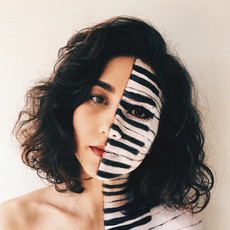Piano face painting