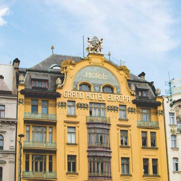Grand Hotel Europa, Prague