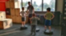 Séance Crossfit Kids