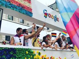 Google Float London Pride 2019