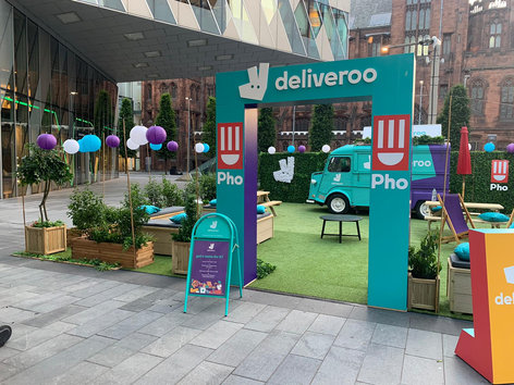 Deliveroo PHO Stand