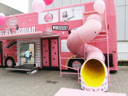 Soap and Glory Bus