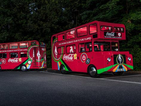 Coca Cola Beatbuses 2012 Olympics