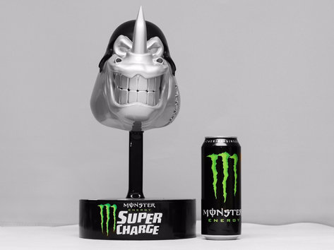 Monster Super Charge Trophies