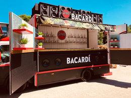 Bacardi Rum Truck