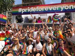 Google Float London Pride 2018