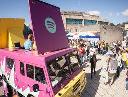 Spotify DJ Truck
