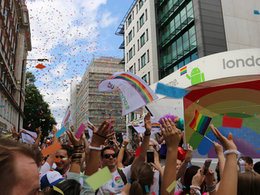 Google Float London Pride 2015