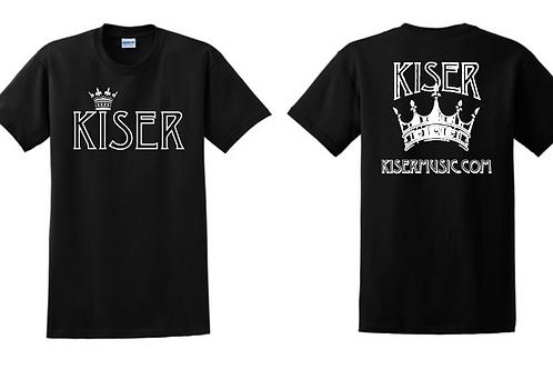 Kiser Crown Tee (Black)