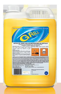 Detergente desincrustante alcalino Grill