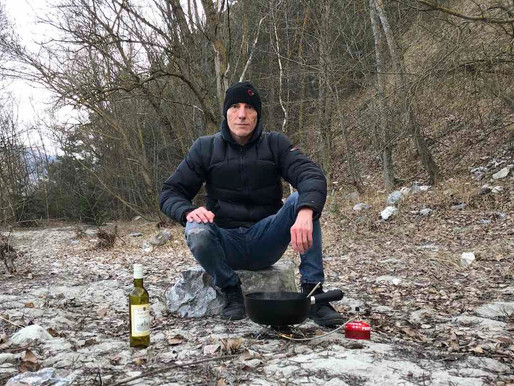 Pause au bord de la rivière