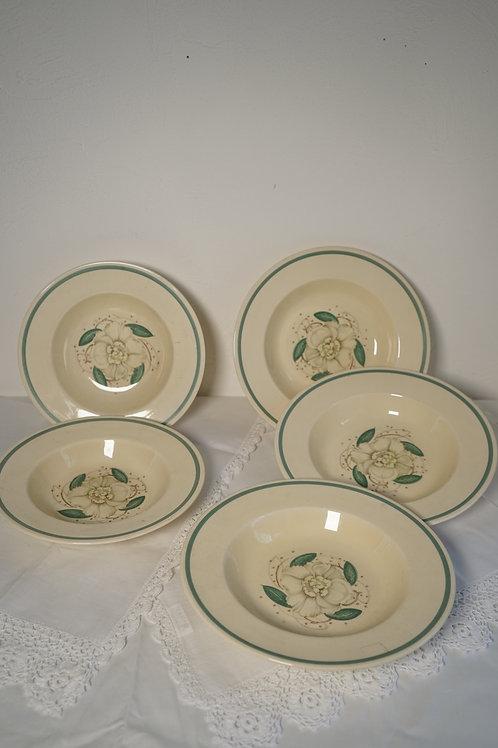 スージークーパー ガーデニア スープ皿(小・大)